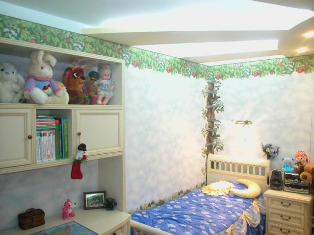 Дизайн квартир фото детской.