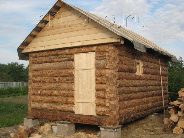 Бани под ключ. Наши предки строили бани очень простыми и с